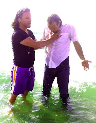 Edgar Neo gedoopt door Marcel van Dam