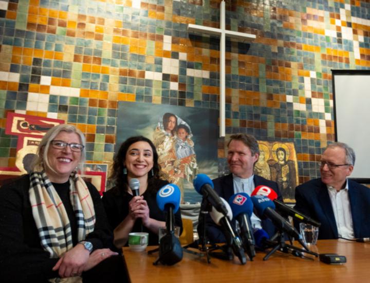 Kerkasiel in Bethelkapel afgesloten met een lach Den Haag Neo de Bono Bettelies Westerbeek AD.nl