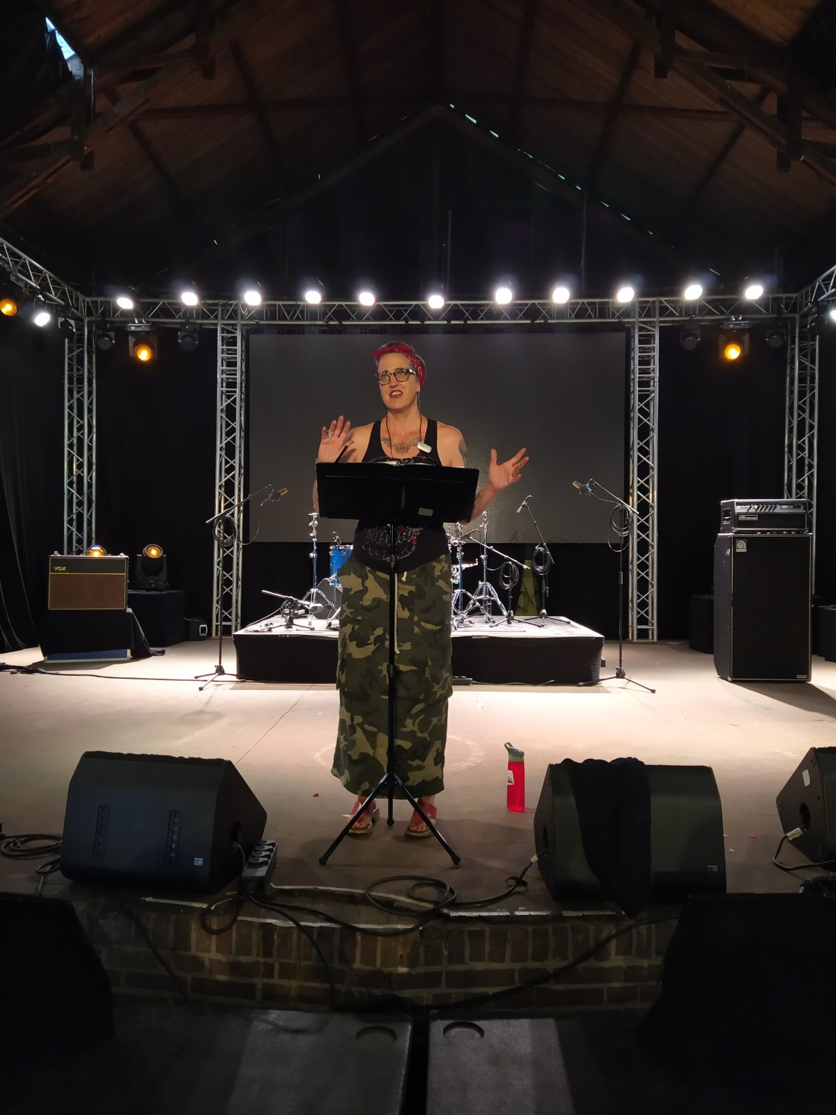 Nadia Bolz-Weber op Graceland Festival Neo's Blog