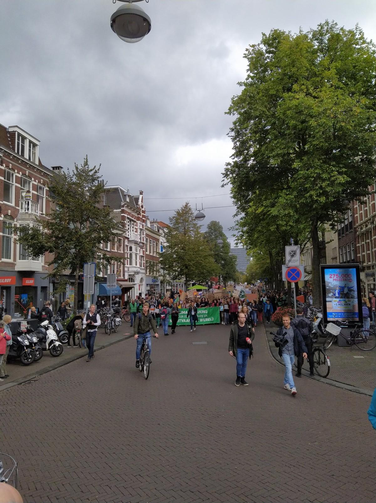 Grote opkomst Klimaatstaking en Klimaatmars in DenHaag