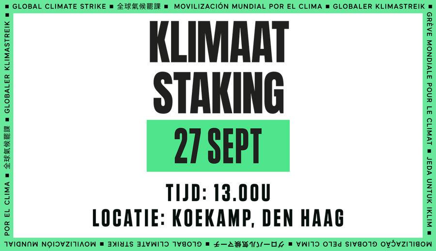 Laatste nieuws over de Klimaatstaking en Klimaatmars in Den Haag!🌍✊💚