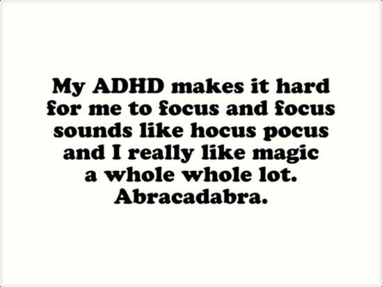 ADHD. Ik? Ja? Nee?Jeej!