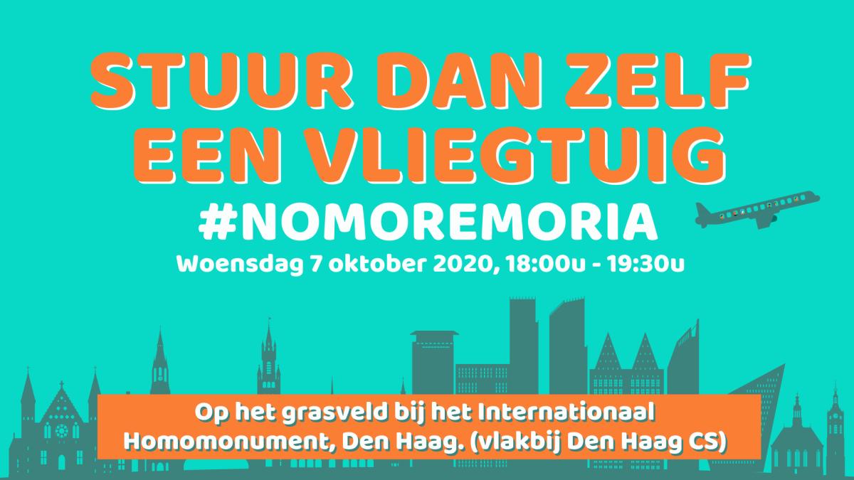 No More Moria Manifestatie Koekamp Den Haag#wegaanzehalen