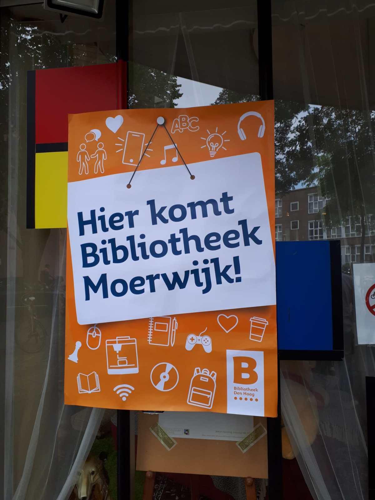 Bibliotheek terug inMoerwijk