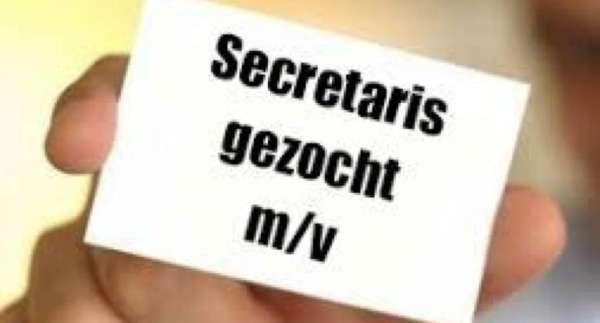 Secretaris gezocht #vacature